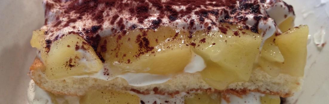 Apfel Tiramisu